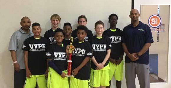 6th Grade IRise Elite wins Vype Slam Jam 2016