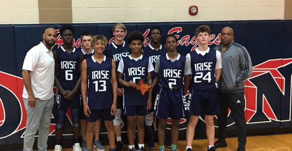 I-Rise wins hardware at Pearland Classic.